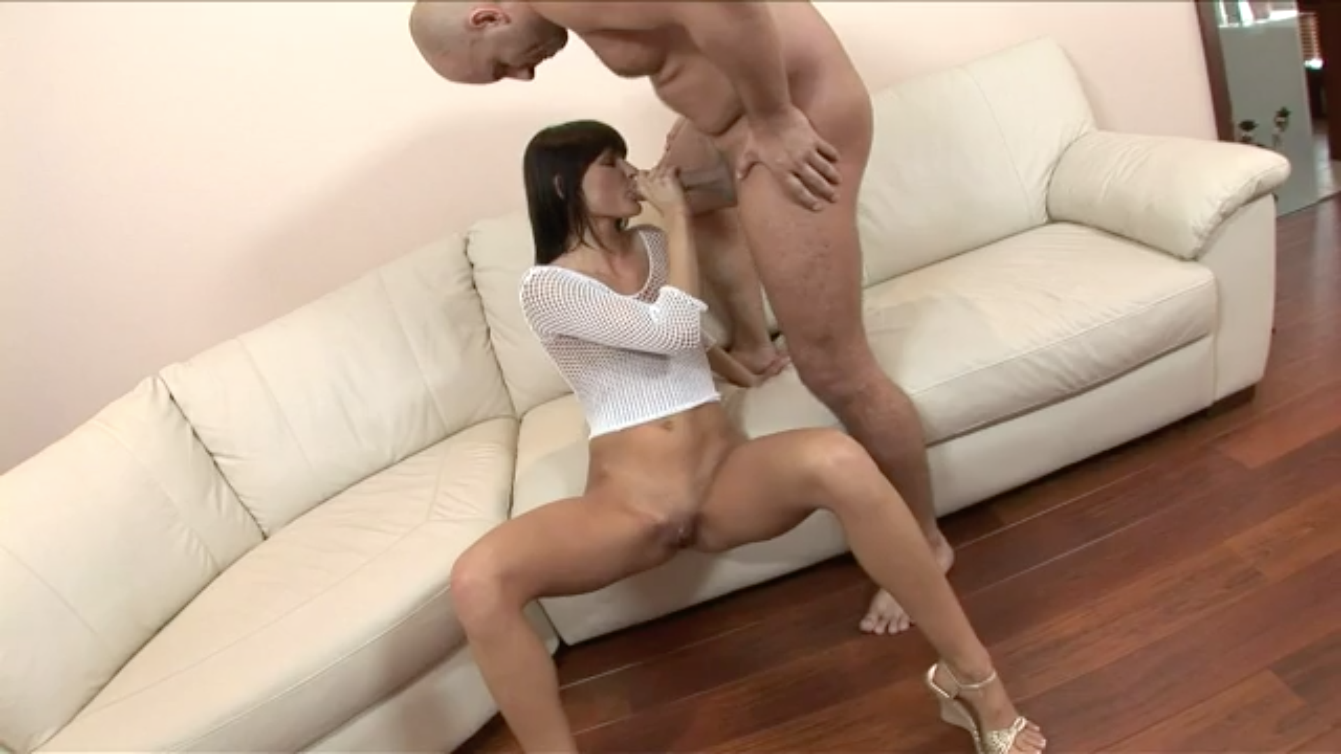 Fuck my pussy and then my throat
